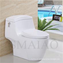 Sanitario Cuarto de baño Cuarto de baño de una sola pieza Siphonic Ceramic Toilet (8110)