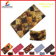 wholesales customized tube neck warmer skull bandana scarf