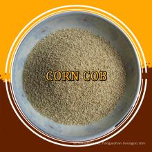 abrasive and granules corn cob for polishing
