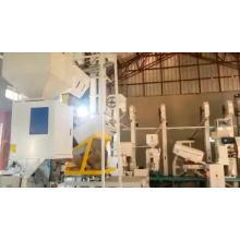mini small 2ton ricemill plant/ indian price machine