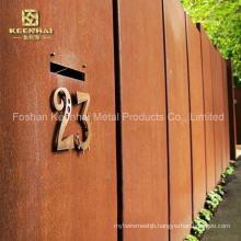 Decorative Outdoor Corten Steel Sheet for Building (KH-CS-01)