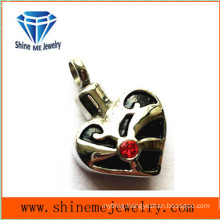 Wholesale Fashion Stainless Steel Heart Necklace Pendant