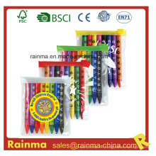 8PCS Farben-Zeichenstift im PVC-Beutel