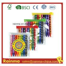 Цветной Crayon 8PCS в мешке PVC