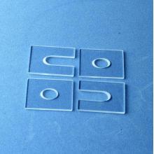 Peças de vidro de gema de safira personalizadas