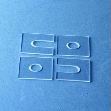 Custom sapphire gemstone glass parts