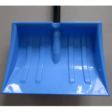 Kids Plastic Snow Shovel with steel handle