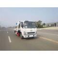 Diesel Fuel Wrecker Car Flatbed Tow Truck