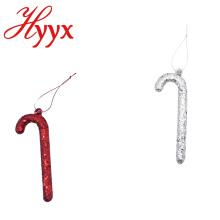 HYYX Cheap New Year Christmas tree decoration 2018 hanging crutches christmas ornament decorative santa Supplies
