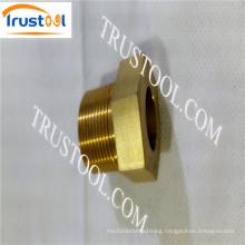 Precise Machining Brass Knurling Inserts