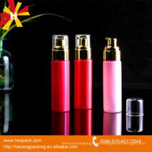 60ml botella cosmética de la botella de plástico