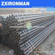 De acero sin costura para precio de tubo de caldera/negro schedule 40 tubo acero ASME SA 213