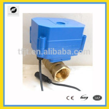 miniature DC12V electric shut-off valve with large torque for Pure water and water filter system and water treatment