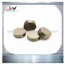 Imanes de smco del disco del cobalto del samario fuertes 6mm dia x 6m m smCo1: 5