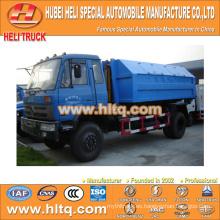 DONGFENG 4X2 modelo nuevo brazo tipo camión de basura 8 cúbicos 170hp atractivo de alta calidad de venta caliente