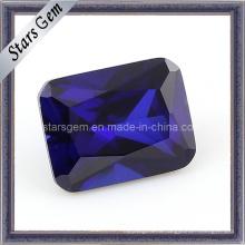 MID Фиолетовый прямоугольник Форма Октагон Принцесса Cut CZ Кубический цирконий