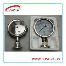 Mesure de pression liquide en acier inoxydable