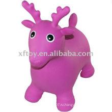 Мягкие надувные игрушки прыжки животных