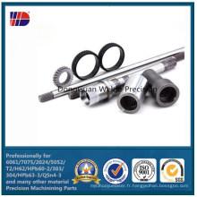 Engrenages hélicoïdaux hélicoïdaux d'engrenages droits de fabrication de roue dentée de fabricants