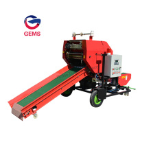 Silage Packing Corn Straw Silage Bale Wrapper Machine