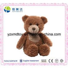Soft Plush Dark Brown Teddy Bear