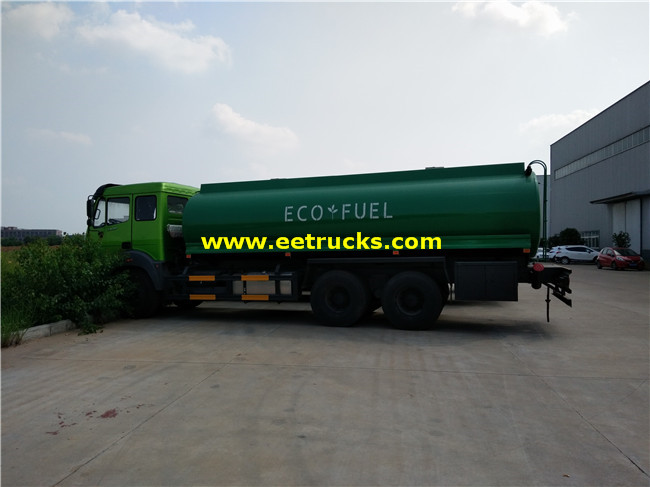 10 Wheel 16800L Gasoline Delivery Trucks