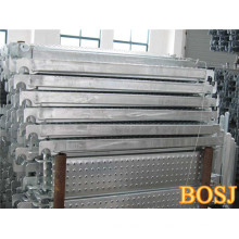 Металлические доски из алюминиевого каркаса