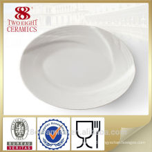 Wholesale white china platters, serving platter for hotel