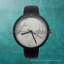 Новый Стиль Мраморный Циферблат Моды Из Нержавеющей Стали Кварцевые Часы Гл-БГ-046