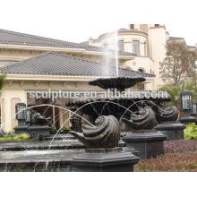 Escultura residencial moderna da fonte da paisagem