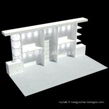 Armoires d'affichage d'armature en aluminium d'offre de Detian avec l'éclairage mené