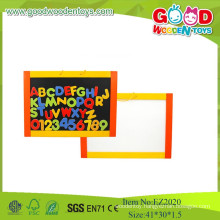 2015 New Item dry erase with letters and numbers, Wooden Board Toys For Kids