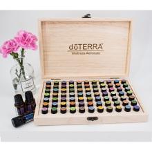 Wooden Essential Oil Bottle Storage case 2ml 77 bottles Storage Box