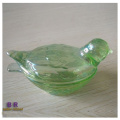 Eleganter Vogel Kristallglas Candy Box Glas
