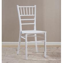 silla de chiavari durable uso de la boda de plástico silla de estilo de bambú