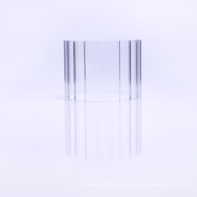 TYGLASS Wholesale Top quality COE 3.3 straight clear borosilicate glass Profile tubing for sale