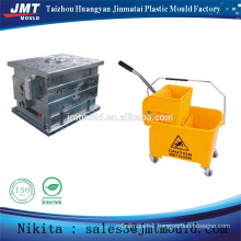 China injection plastic mop bucket with wringer mold