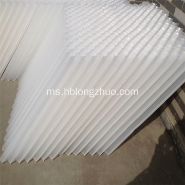 Penapis Plate Media Clarifier Hexagonal Tube Settler