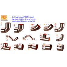 End Feed/Capillary Copper Fittings