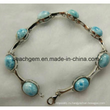 Мода ювелирные изделия Larimar браслет (BR109-8)