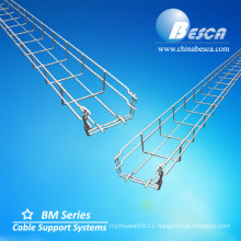 SS316 Gridding Cable Tray With Accessories (CE,UL,NEMA,ISO,SGS,IEC)