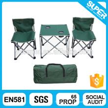 Mesa dobrável dobrável com conjuntos de cadeiras para crianças
