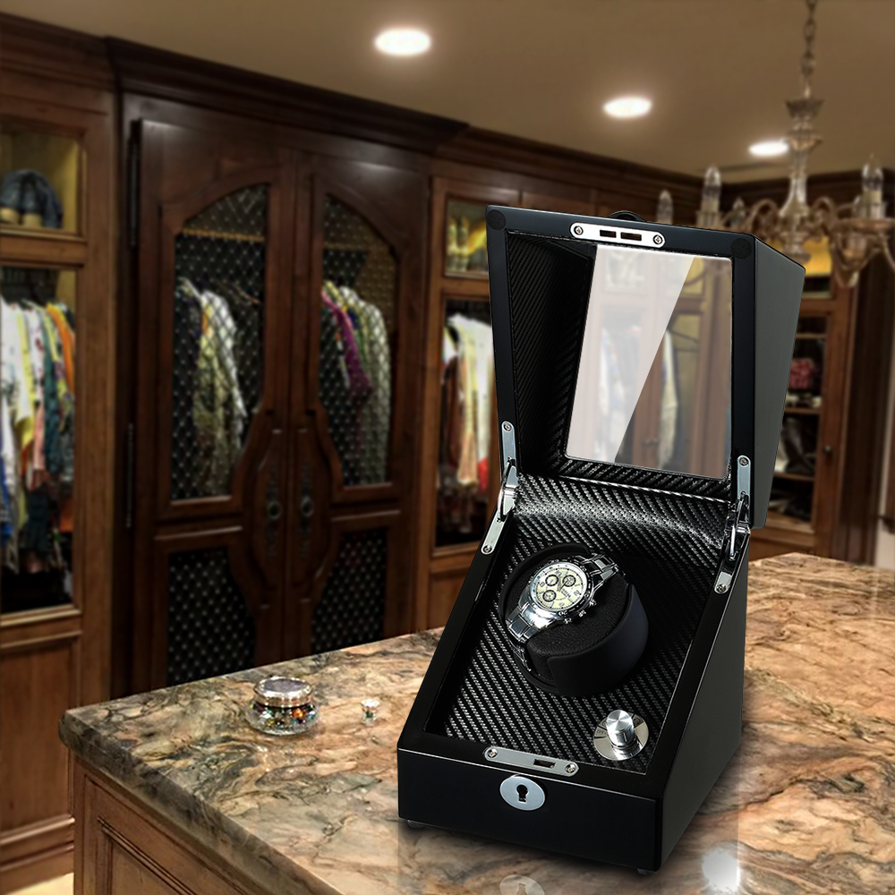watch winder in dressing room