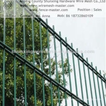 Galvanized&PVC Coated Double Wire Mesh Fence (Factory)