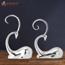 Пользовательские ремесла отель интерьер домашнего декора абстрактный смолы скульптура оленя
