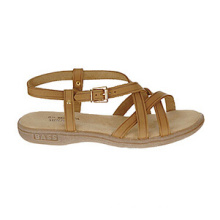 Ideal for Warm Weather Leather Strappy Style Sandals
