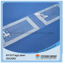 RFID etiqueta de impresión etiqueta etiqueta de plástico