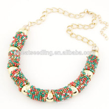 Factory Directly Wholesale small Order American Style Fashion Necklace 2014 Latest Design Statement Necklace Fashion Jewelry