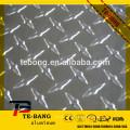 5-bar Aluminum Checker Plate Stucco laminated base material