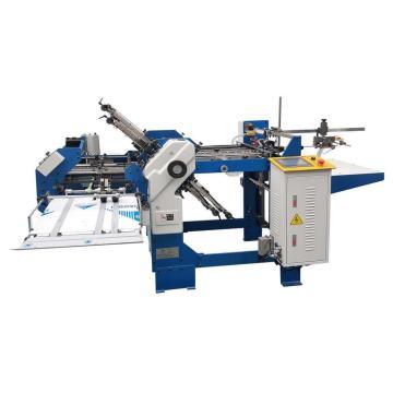 Máquina plegadora de papel con hebillas 360-4 + 1 con un cuchillo